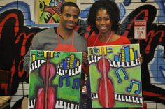 Uncork Your Inner Artist in a BYOB Painting Night