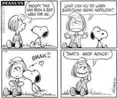 snoopy political comics | Peanuts - Peppermint Pattie & Snoopy kiss