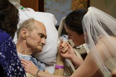 Angel gives dying father wedding moment