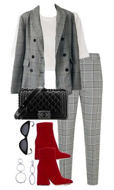 """Untitled #5341"" by theeuropeancloset on Polyvore featuring Alexander Wang, Chanel, Maison Margiela and Le Specs"