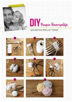 Zelf je haarspeldjes maken, met mini-pompoenen. Hoe cool is dat?