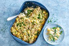 Ovenschotel met krieltjes, sperziebonen & tonijn - Recept - Allerhande