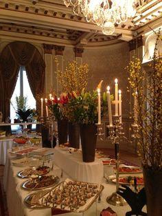 Easter Buffet at Grand Hotel, Stockholm, Sweden.