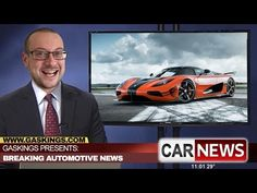 Gaskings Car News Episode 15 - Agera XS, Mercedes Maybach, Camaro ZL1,Honda Hatchback - YouTube