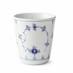 Royal Copenhagen Fluted Plain 9.75 oz. Thermal Cup in Blue
