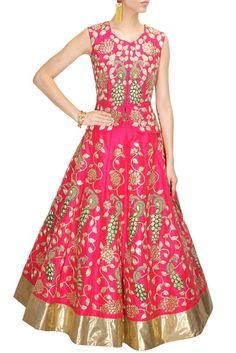 Pink color Wedding Lehenga Choli