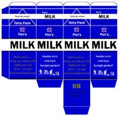 cartón de leche