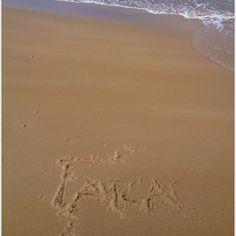 Tara #jenaaminhetzand #yournameinthesand