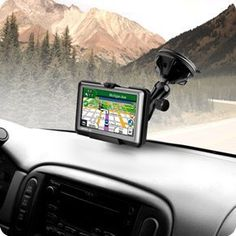 TomTom VIA 1500 1505 1535 TM GPS Telescopic Extend Arm Windshield Suction Mount