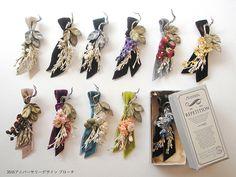 「アトリエ染花」作品展&限定ショップが日本橋三越に - 多くのブランドに愛される花のアクセサリー 写真7