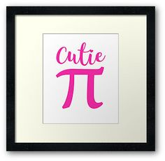 Cutie Pie Pi March 14 Day Cute Pink 3.14 Symbol