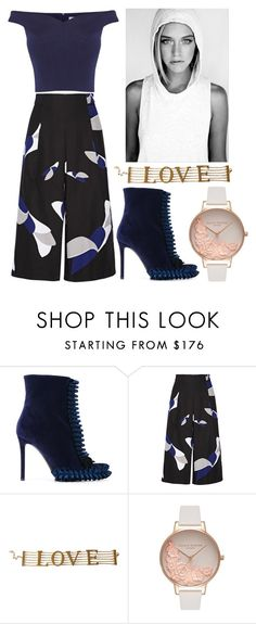 """Hello world!"" by piedraandjesus ❤ liked on Polyvore featuring Marco de Vincenzo, TIBI, Dolce&Gabbana, Olivia Burton and Coast"