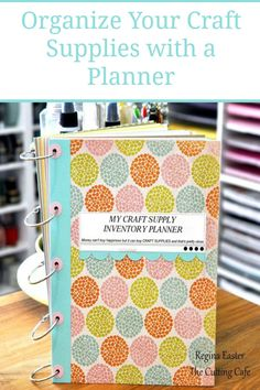 Do you ever buy a craft supply because you don't think you have it in your stash only to find you have 5 of them? This Craft Supply Inventory Planner is a great way to keep you organized.