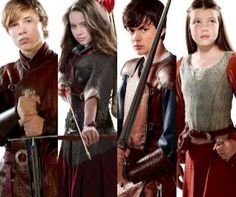 The Pevensies #narnia