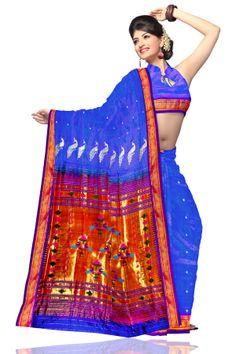 online paithani sarees are available at www.unnatisilks.com