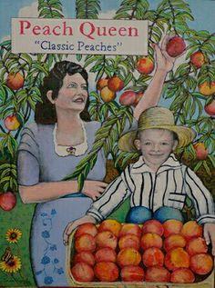 Peach Queen by David Knopf