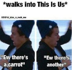 "More like at school and everywhere else in my life. <<< When me and my sister where at the One Direction concert in July someone said ""Harvest all of them because they are carrots"""