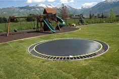 Any kid's dream backyard