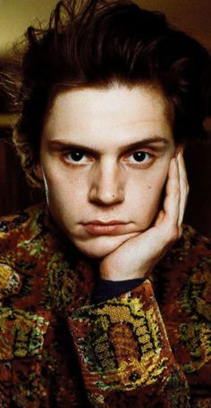 The Hypnotic, Mysterious Essence of Evan Peters. Photographed by Felicia Tolentino
