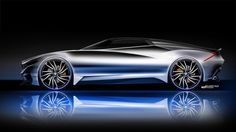 BMW MZ8 Concept Design Sketch