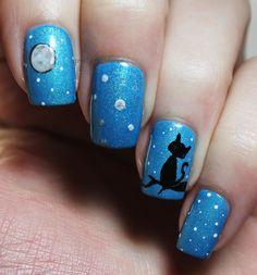Pinspired: Kitten in the Moonlight | Pretty Girl Science