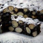 Παν φόρτε (Panforte) Greek Christmas, Food Styling, Quinoa, Sweets, Cookies, Chocolate, Cake, Biscuits, Desserts