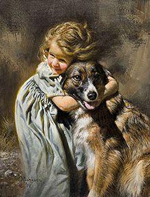 Best Friends by Alfredo Rodriguez Amazing Paintings, Animal Paintings, American Indian Art, Native American Art, Munier, Southwest Art, Victorian Art, Antique Photos, Western Art