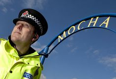One of our Neighbourhood Policing inspectors photographed on the Mocha Parade in Lower Broughton in Salford. Neighbourhood Policing is at the heart of Greater Manchester Police. We want Greater Manchester to be a better place to live, work and play. For information about Greater Manchester Police please visit our website. www.gmp.police.uk