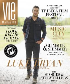 "VIE Magazine September 2017 Cover: Luke Bryan, one of today's biggest country music stars, is all set to headline the Pepsi GUlf Coast Jam 2017 music festival in Panama City Beach, Florida. Bryan will be joined by Jason Aldean, Little Big Town, and many more for the September 1-3 events at Frank Brown Park. Get more information and read all about the festival's brief but impressive history in ""Doin' Their Thing."" 