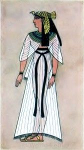 ANCIENT EGYPTIAN COSTUME PLATES Plate VIII. Ancient Egyptian Queen