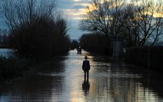 Flooded Road | Somerset 2012