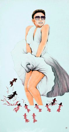Print of Take Off Your Clothes by byeoksong on Etsy. $35.00, via Etsy.