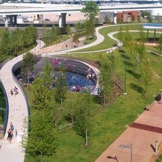 Cumberland Park by Hargreaves Associate / Nashville, Tennessee, USA