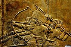 Lion Hunting Scenes, Ashurbanipal II | par Assyria, Babylon, Akkad, Sumer...