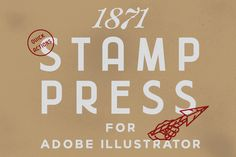 1871 Stamp Press by 1871 Project on @creativemarket