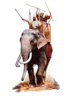 Боевой слон.