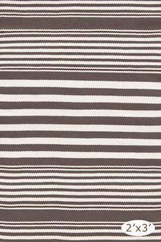 Charcoal Strip Indoor/Outdoor rug : not sure if indoor/outdoor would be absorbent enough as a bath mat?  On the plus side, it's meant to get wet...