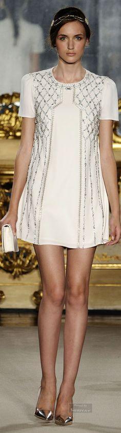 Elisabetta Franchi   The Little White Sexy Cocktail Dress