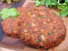 The Sunny Raw Kitchen: Recipe of the Week: Jalapeno Burgers