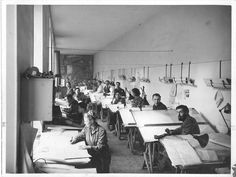 Bureau Le Corbusier Paris 1924