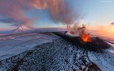Wulkan, Dym, Lawa
