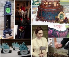 Halloween - The Haunted Mansion #wedding theme