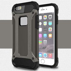Strong Hybrid Tough Shockproof Armor Case Cover for Apple iPhone 5 5S 6 6S Plus TPU Hard Back Slim Shell Armor Case Cover