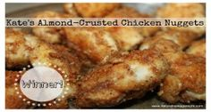 Almond-Crusted Chicken Nuggets