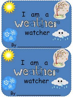 I created a simple weather book with sight words and weather words.  The children will draw the correct weather outside of the window until the last page where they can draw the actual weather outside!