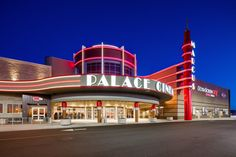 The Marcus Palace Cinema in Sun Prairie is a brand new state-of-the-art modern cinema with 12 auditoriums, designed by TK Architects International Cinema Architecture, Sun Prairie, Auditorium, Architects, Palace, Mansions, House Styles, Modern, Life