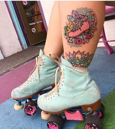Moxi Skate Tattoo from @pigeonskate
