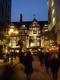 Liberty department store, London