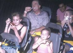 There's an elusive art to the perfect roller coaster photo. These people have mastered it.