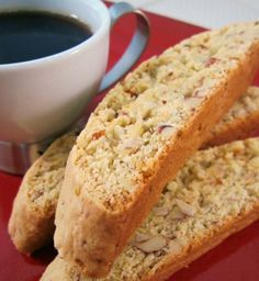 Almond & Anise Biscotti // I made these as Christmas presents this year, and they are FANTASTIC! Super easy with delicious results. Seriously, do yourself a favor and make these.